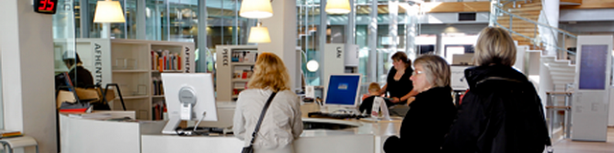 Informationen på Kolding Bibliotek (Info1)