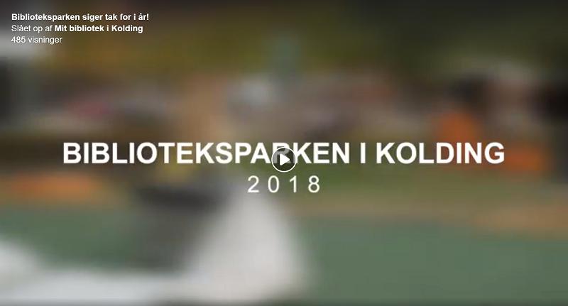 Afslutningsvideo fra Biblioteksparken 2018